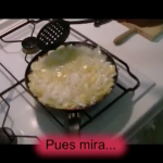 Making Spanish Tortilla with Carlos (video)