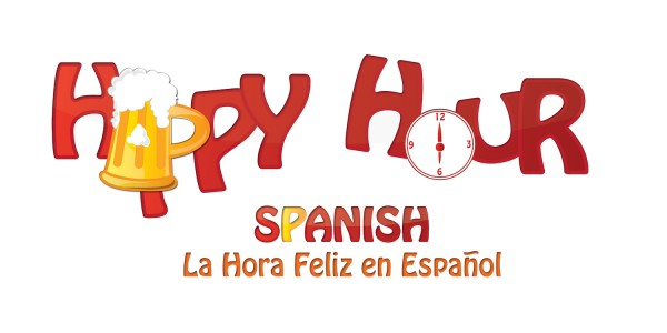 happy hour spanish logo home