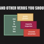 Gustar and other similar verbs you should know