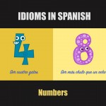 10 Spanish Idioms using Numbers