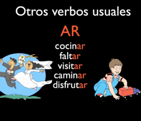 Grammar Lesson: Spanish Regular Verbs AR
