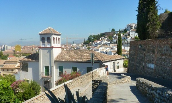 The albaicin in Granada