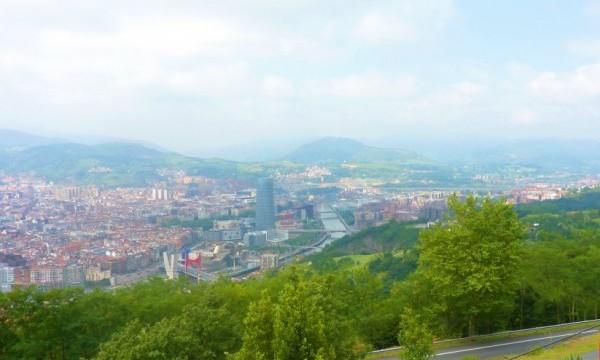 Bilbao view Artxunda