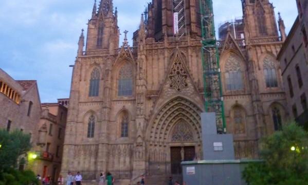 Gothic Neighborhood Barcelona