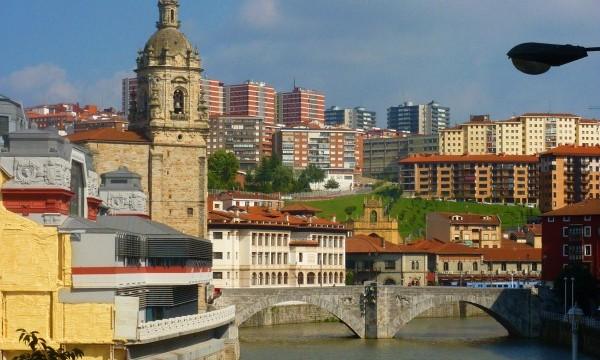 Bilbao Casco viejo view