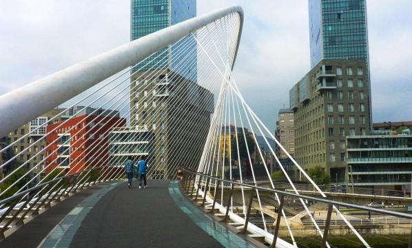 Bilbao Calatrava Bridge