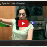 How to Pour Spanish Cider (Video)