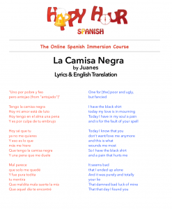 la-camisa-negra-lyrics-and-english-translation-image
