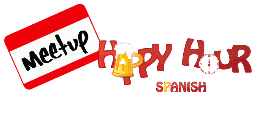 Happy hour Spanish meetups
