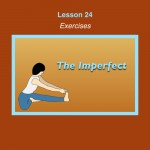 Spanish Lesson 24 Exercises