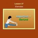 Spanish Lesson 27 Exercises