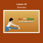 Spanish Lesson 29 Exercises