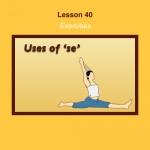 Spanish Lesson 40 Exercises