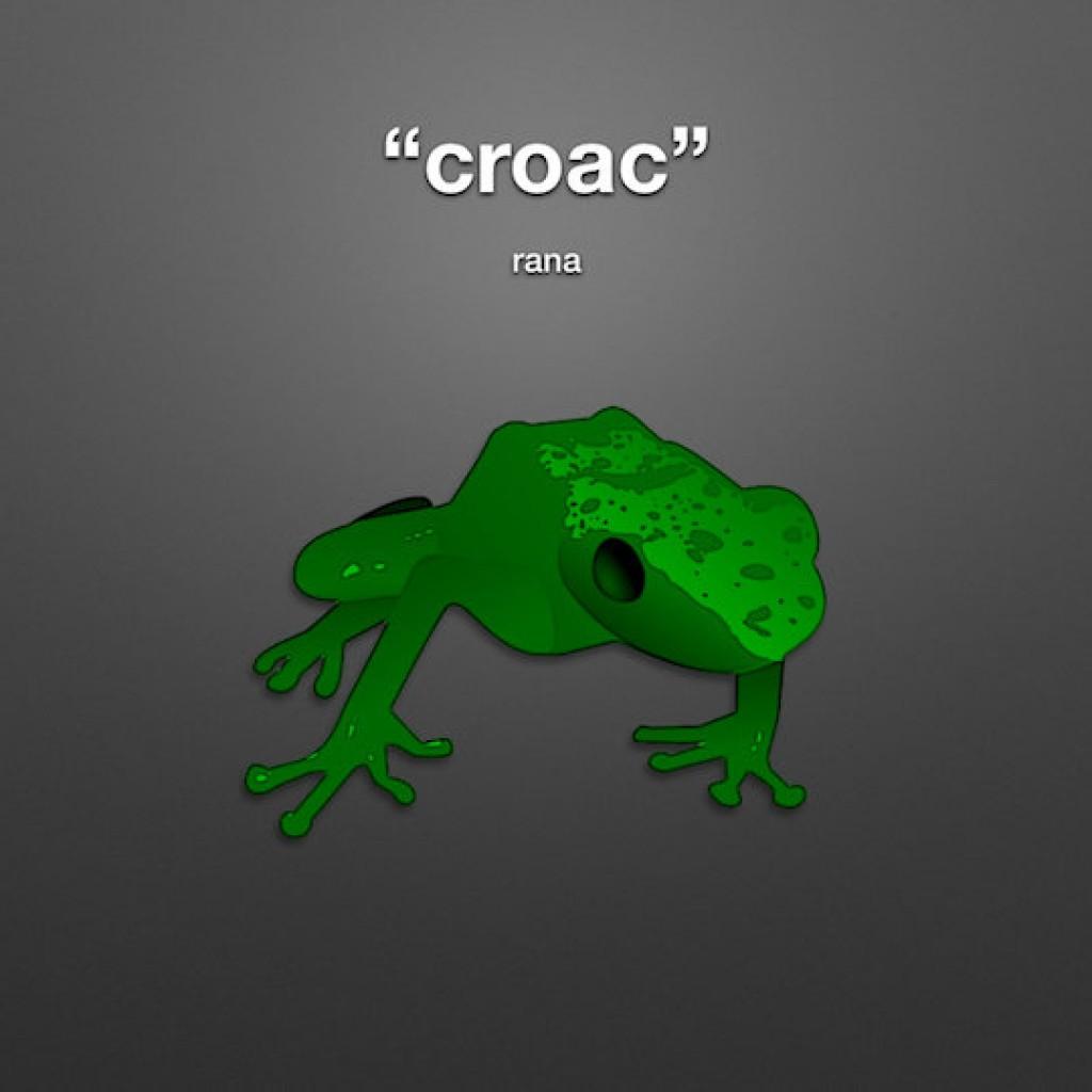 animal sounds in spanish frog ribbit