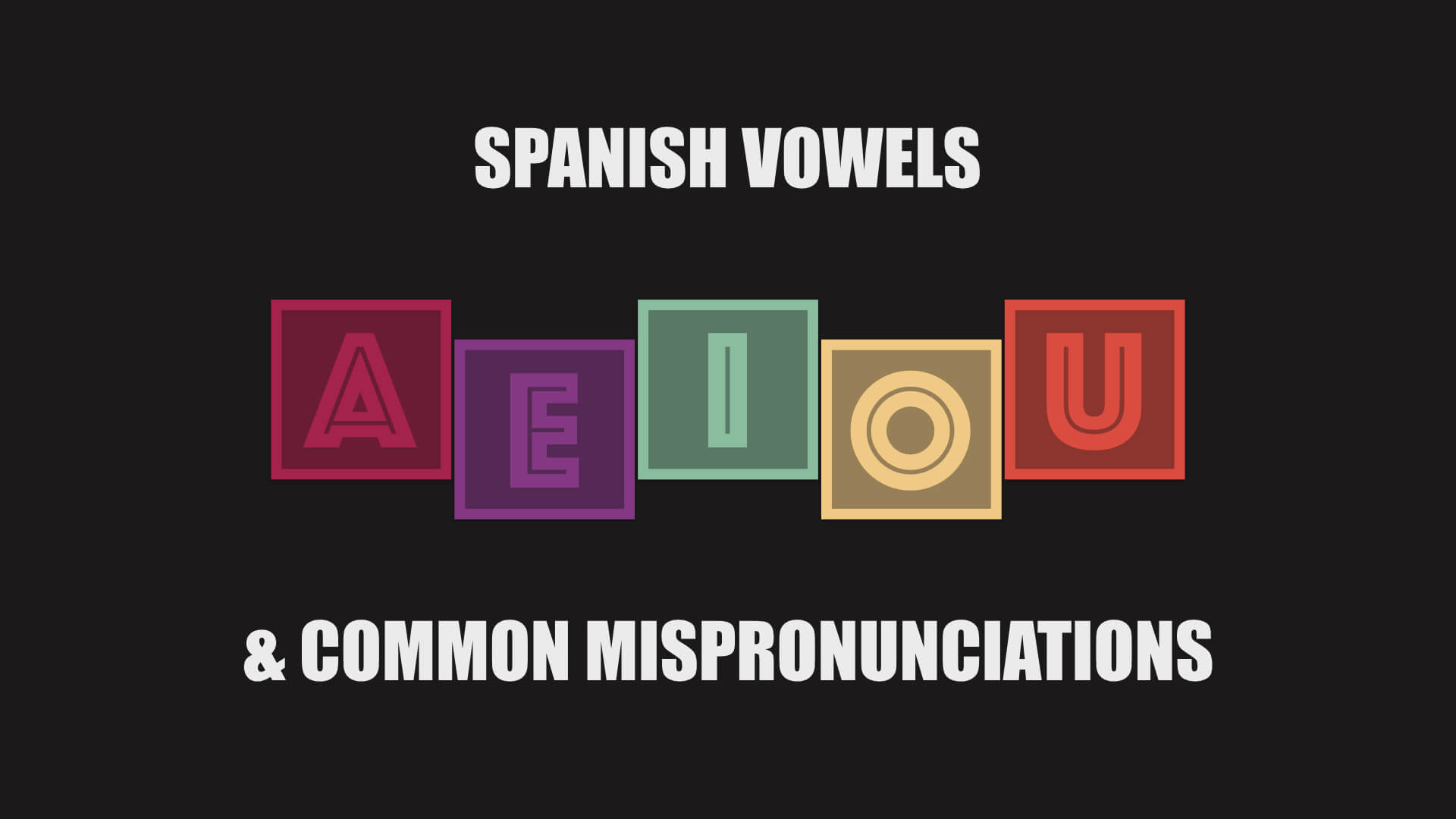 spanish-vowels