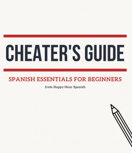Cheater's Guide Beginner Spanish