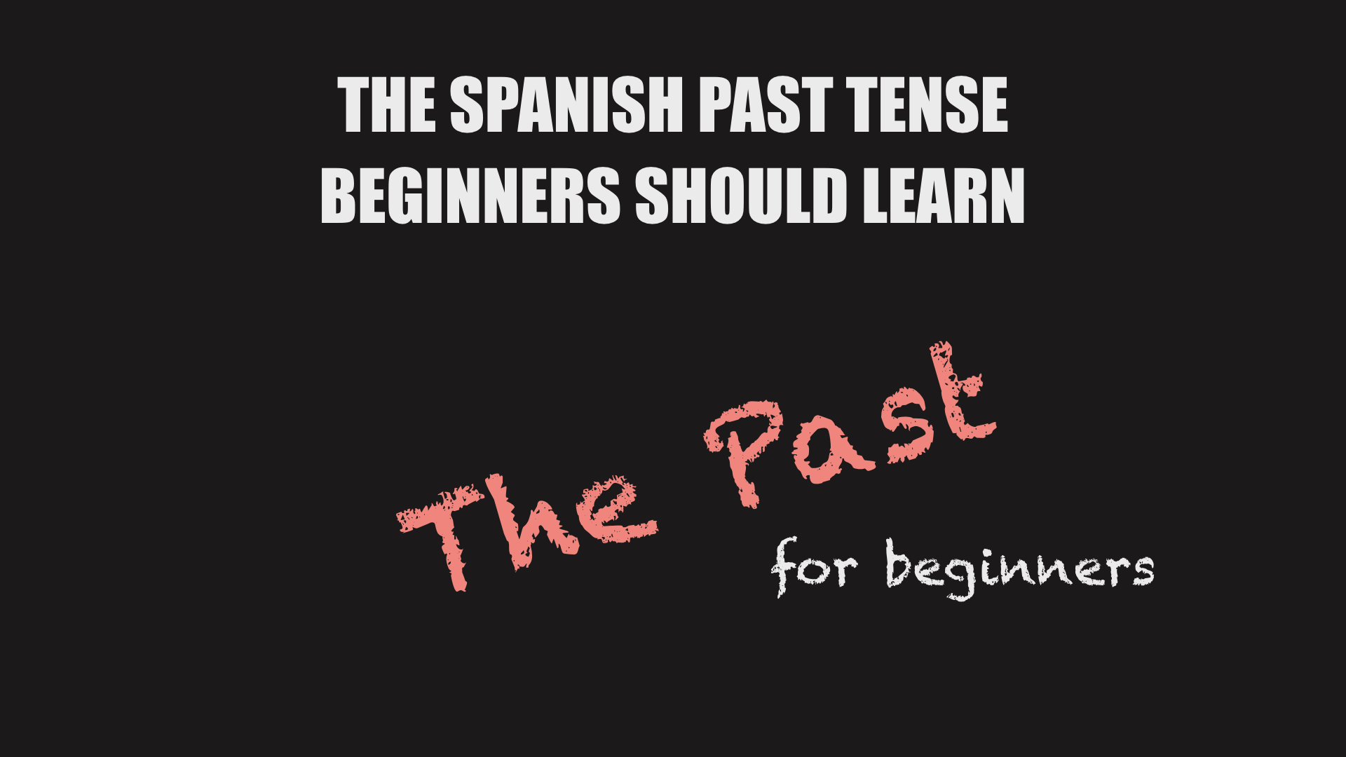 The ipa chart for language learners the spanish past tense for beginners biocorpaavc Choice Image