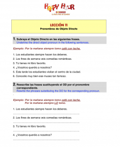direct-object-pronouns-in-spanish
