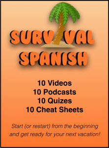 Survival Spanish Beginner Students