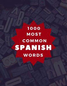 common Spanish Words